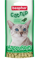 Лакомство Happy Rolls Catnip с кошачьей мятой для кошек