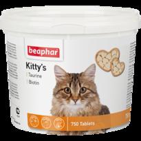 Кормовая добавка Kitty's + Taurine-Biotine с биотином и таурином для кошек