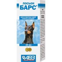 Барс Лосьон для очистки ушей собак и кошек - 20 мл
