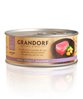 Филе тунца с мидиями в собственном соку
