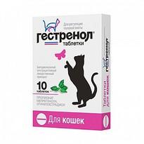 Гестренол таблетки для кошек