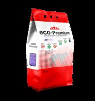 Комкующийся древесный наполнитель ECO-Premium Экстракт лаванды
